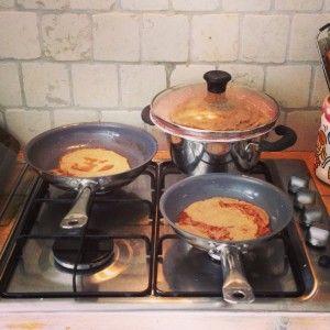 Boemweit pannenkoeken! Glutenvrij en lactosevrij