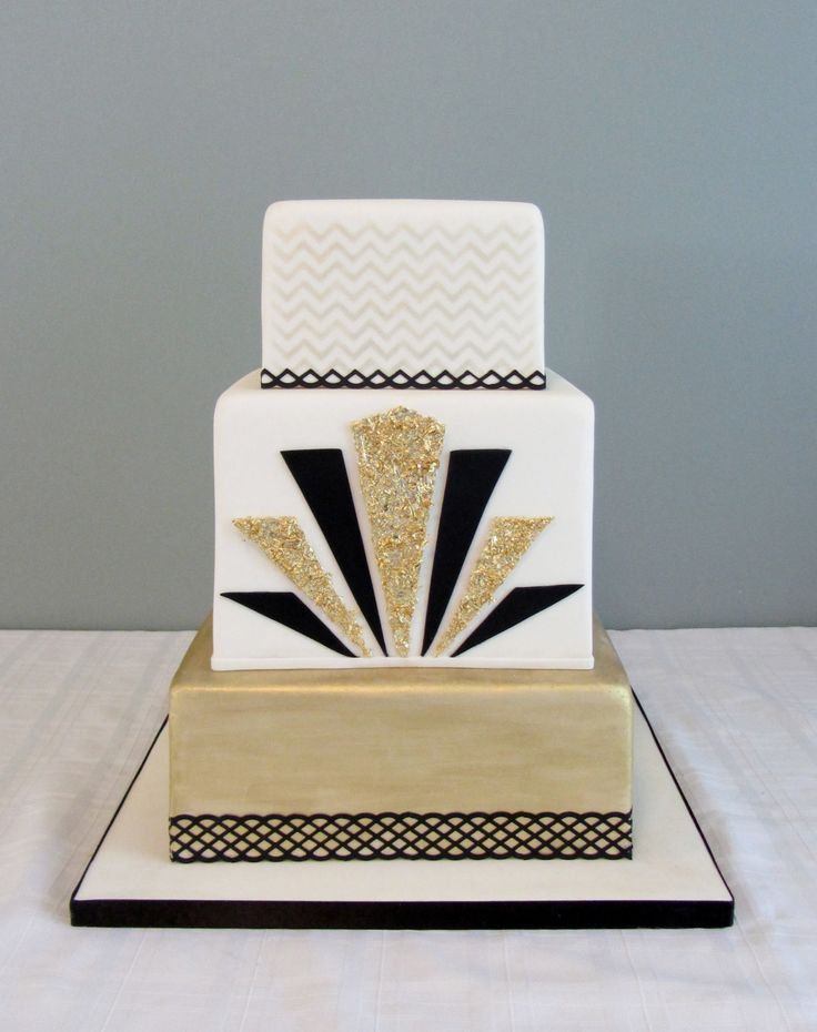 Best 25+ Art deco cake ideas on Pinterest Art deco ...