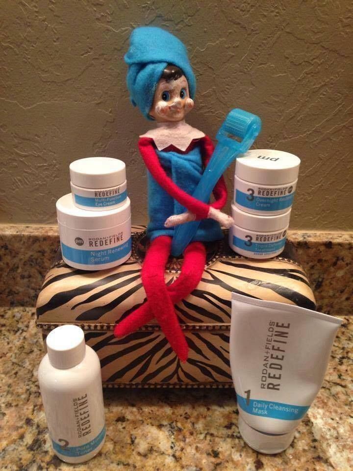 So, you did you know Elves never age?? I found out their secret!!! It's the Redefine regimen with Amp Roller!  What a perfect gift for yourself or someone else! Message me for pricing! https://hpietrzak.myrandf.com/