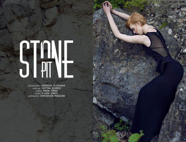"Dominika Olszewska: ""Stone-pit"" http://www.confashionmag.pl/webitorial/stone-pit.html"