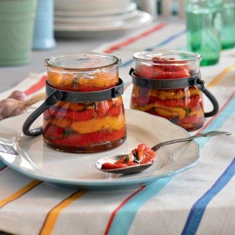 Одесский рецепт приготовления запеченных перцев.