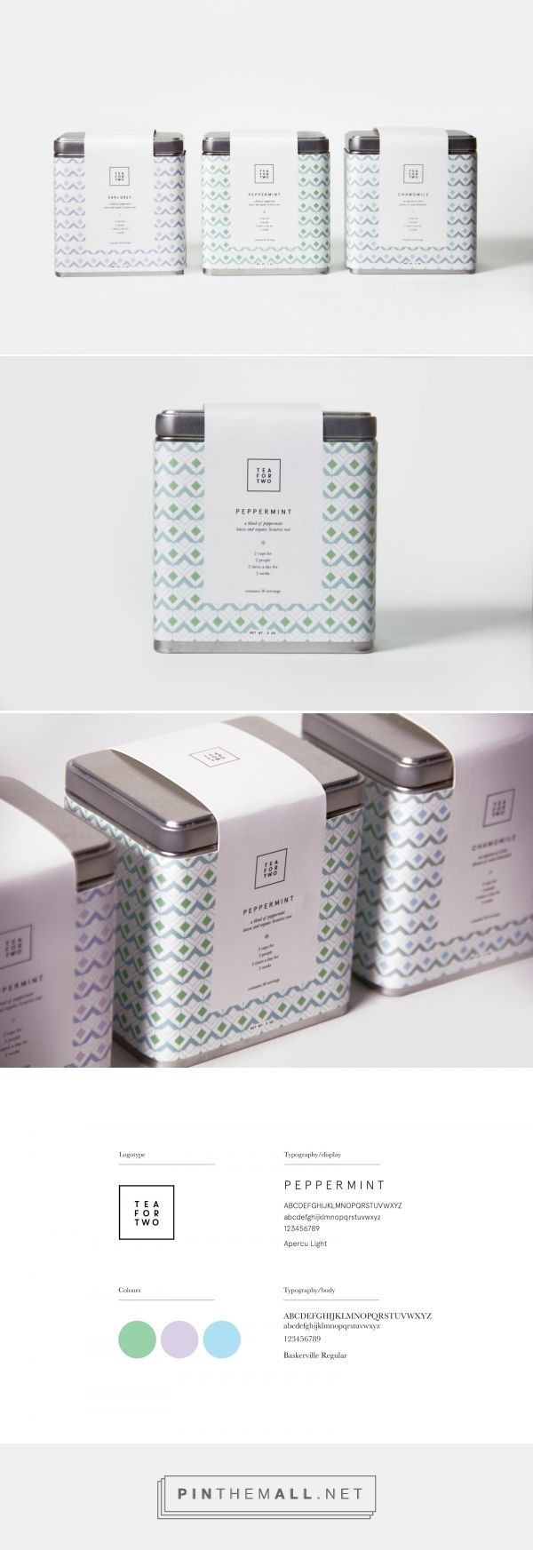 Tea for Two (Student Project) - Packaging of the World - Creative Package Design Gallery - http://www.packagingoftheworld.com/2016/08/tea-for-two-student-project.html