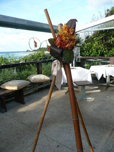 flowers by www.beautiflora.com Beach Cafe Byron Bay