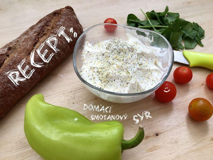 "RECEPT: Domáci smotanový syr ""Lučina"""