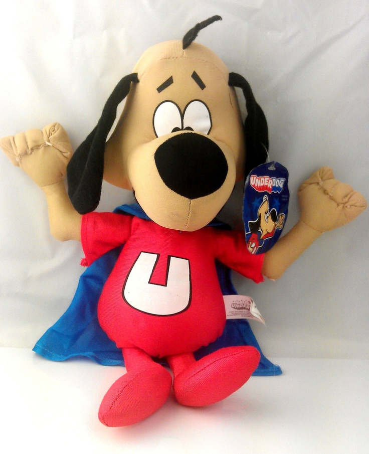 Not bird, not plane, not even frog, just lil ole me-- UNDERDOG: Tags Collectible, Fear Underdog, Boys, Underdog Plush