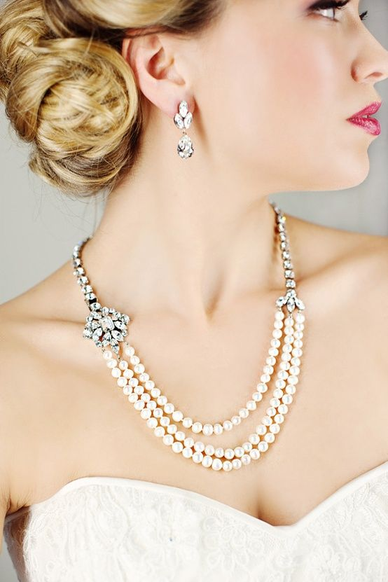 What Southern girl worth her salt (or any girl for that matter) doesn't like a beautiful set of pearls? If they were Grandma's or have a diamond clasp, all the better!