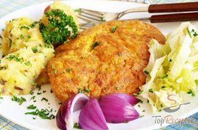 Dijoni mustáros szelet fordított panírban