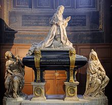 The tomb of Colbert, by Antoine Coysevox and Jean-Baptiste Tuby
