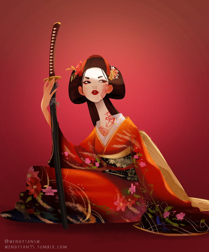 Character Design Challenge Ideas : Best female samurai ideas on pinterest discover more