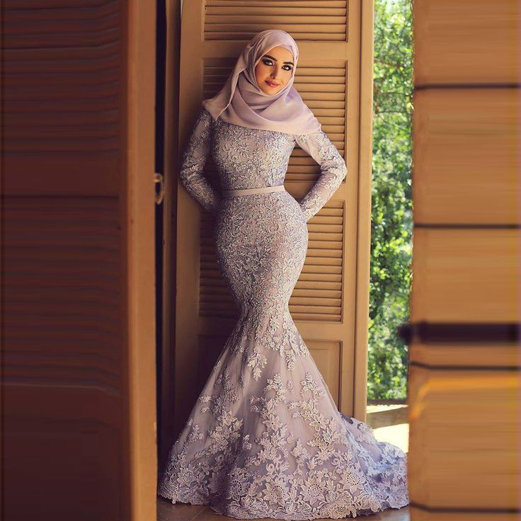 Find More Evening Dresses Information about Muslim Evening Dress Long Sleeves Mermaid Floor Length Long Court Train Appliques Scoop Neckline Dubai Lace Evening Dress,High Quality dress trim,China lace rose dress Suppliers, Cheap lace vintage dress from Suzhou Yast Wedding Dress Store on Aliexpress.com