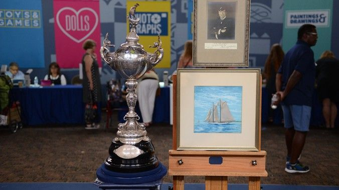 Transpacific Yacht Trophy 1930 Antiques Roadshow | PBS