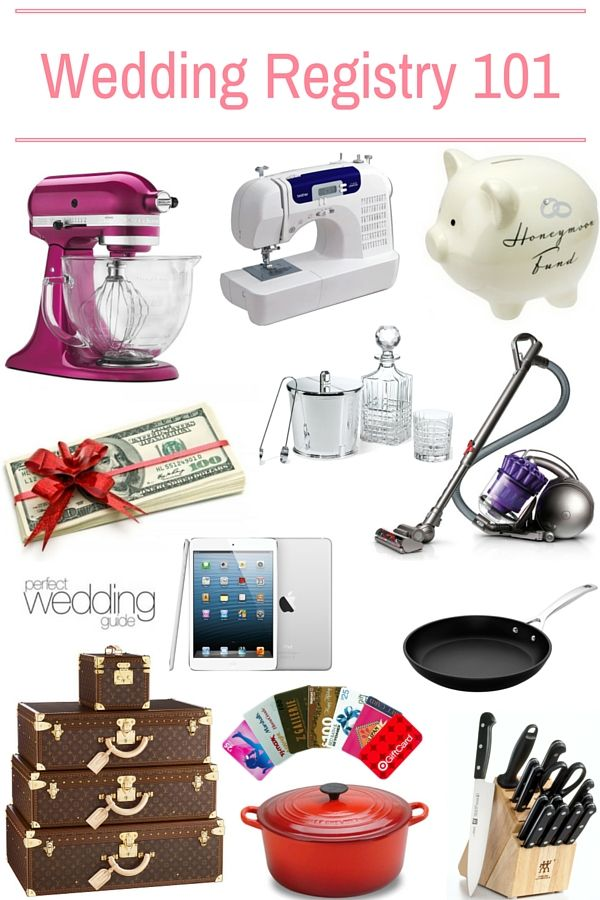 41 best registry and gifts ideas images on pinterest for Things to put on wedding registry