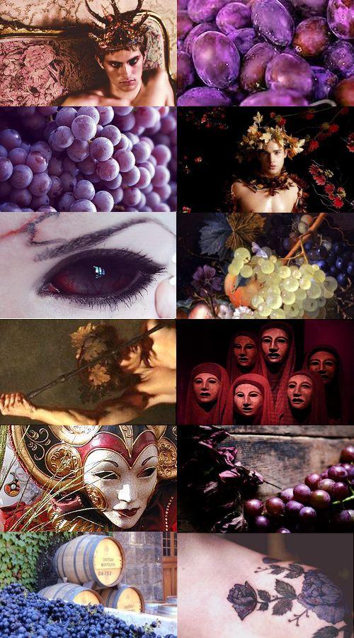 Greek Myths - Dionysus  Apollo/ Poseidon/ Hermes/ Pan/ Ares/ Hades/ Zeus  Goddess Series
