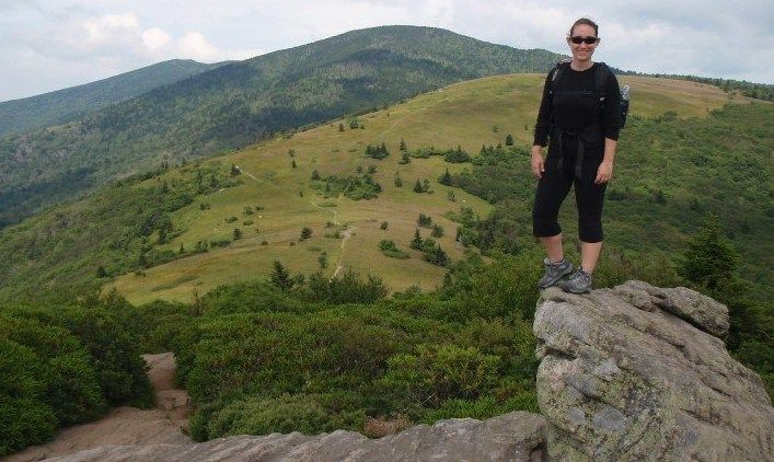 My wife and I spent a splendid weekend hiking along an open ridge in the Roan Mountain, TN area of the Appalachian Mountains. We hiked 14 miles hike along the Appalachian Trail from Carvers Gap to ...