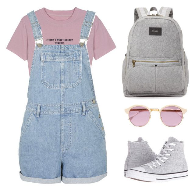 """""""lunch with bts"""" by mazera-kor on Polyvore featuring мода, WithChic, Topshop, Converse, State, Sheriff&Cherry, bts и taehyung"""