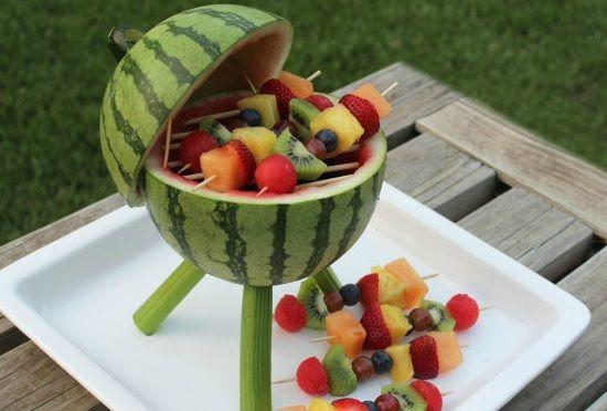 DIY: Watermeloen grill