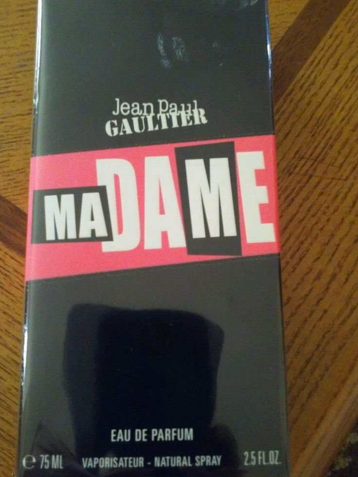 Madame by Jean Paul Gaultier 2.5 oz Eau De Parfum Spray for Women NIB #JeanPaulGaultier