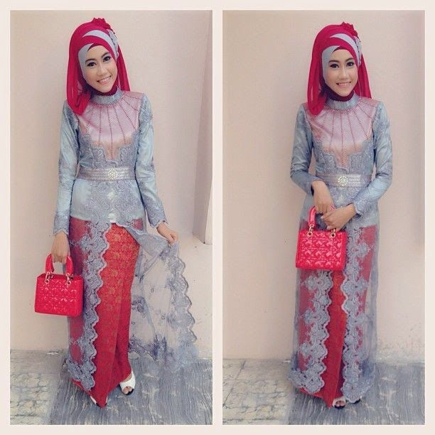 Model Baju Sifon Dian Pelangi