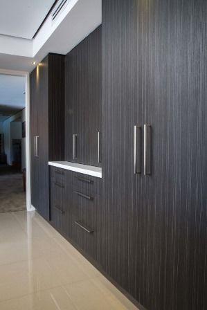 Appliance pantry. Modern kitchen. Large pantry. Large kitchen. www.thekitchendesigncentre.com.au