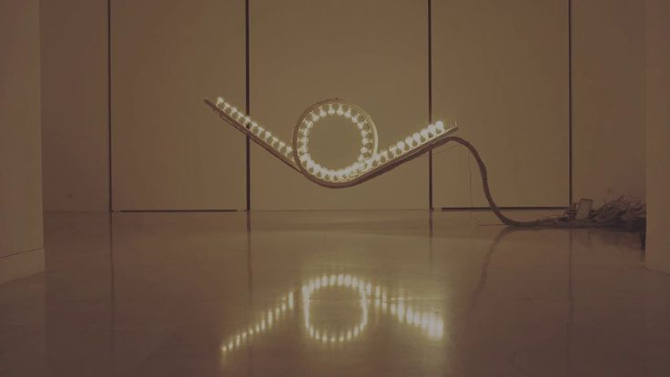 'Light Kinetics', A Roller Coaster-Like Interactive Art Installation Where Users Create a Chain Reaction