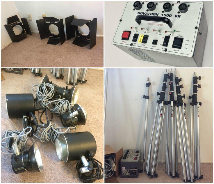 Novatron 1500VR Photography Lighting Kit