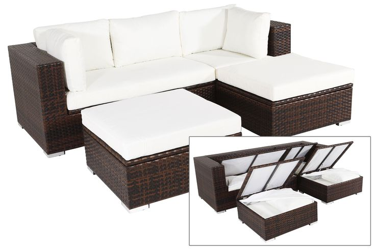 1000 ideen zu polyrattan auf pinterest polyrattan sofa. Black Bedroom Furniture Sets. Home Design Ideas