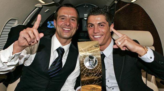 Cristiano Ronaldo: Jorge Mendes