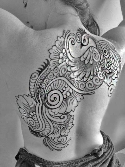 Henna Peacock Tattoo Lower Back: 707 Best Images About Tattoo Henna Styles On Pinterest
