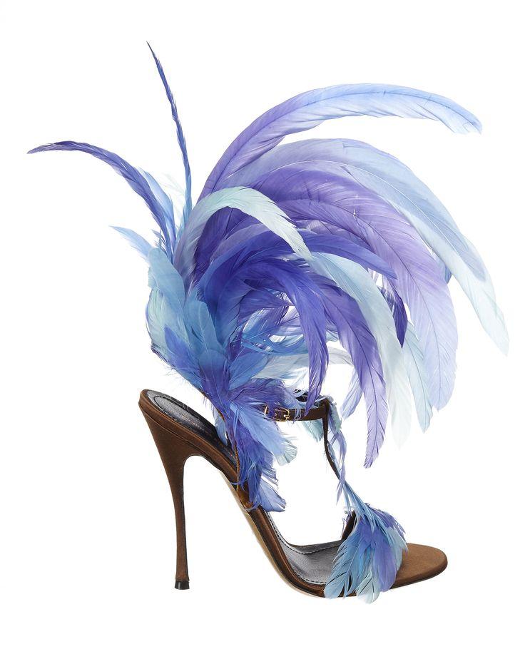 Crazy amazing - the custom shoes Nicholas Kirkwood designed for the @ Victoria Secret runway show