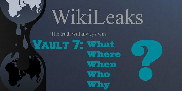 """WikiLeaks Releases Info on CIA""""Vault 7″: Obama's 'Shadow Gov't' is REAL!"""