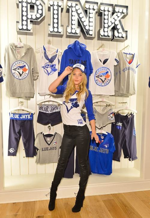 New Blue Jays apparel released by Victoria's Secret...I want
