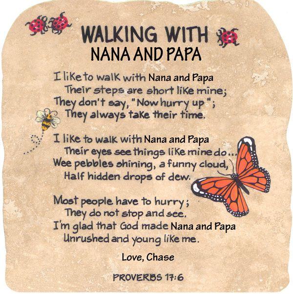 Nana And Papa Quotes. QuotesGram