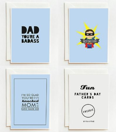 10 Easy and Fun Father's Day Printables!