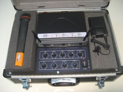 Portable Microphone system