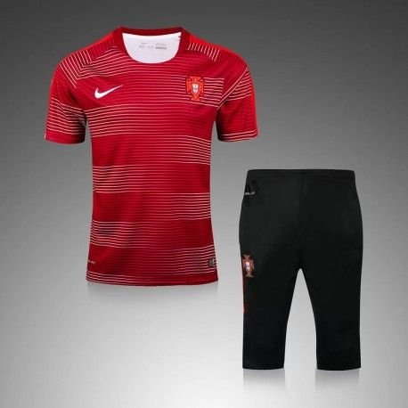 Maillot Training Portugal Rouge