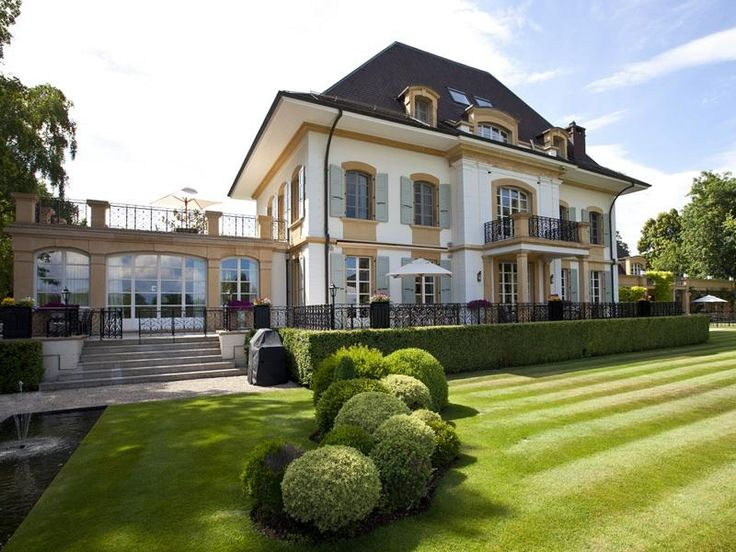 Luxury waterfront property gland vd 1196 switzerland for Luxury dream homes for sale