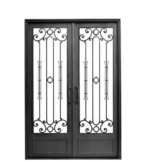 10 Puertas dobles de herreria