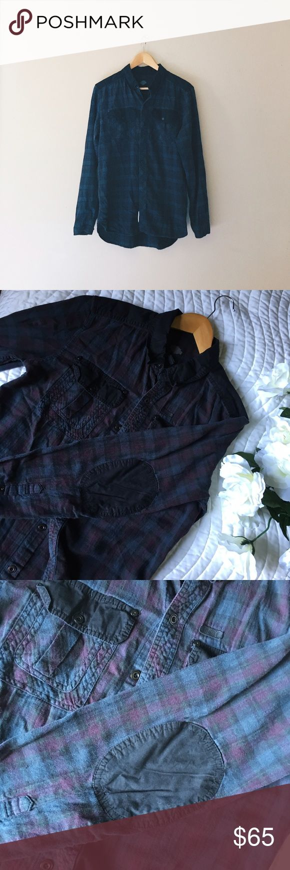Harley Davidson Plaid Flannel Shirt W Elbow Patch Gently used Harley Davidson FLANNEL. Men's Medium, I wore it only a couple of times. Nice patch detail on elbows!! * ✨ All sales are final ✨ * 🙏🏻 Please ask me any questions prior to making a purchase! * 💖 Let me know if you need additional images or measurements. * ✌️️I usually ship same day, or next day. * 💌 Make an offer! Harley-Davidson Shirts Casual Button Down Shirts
