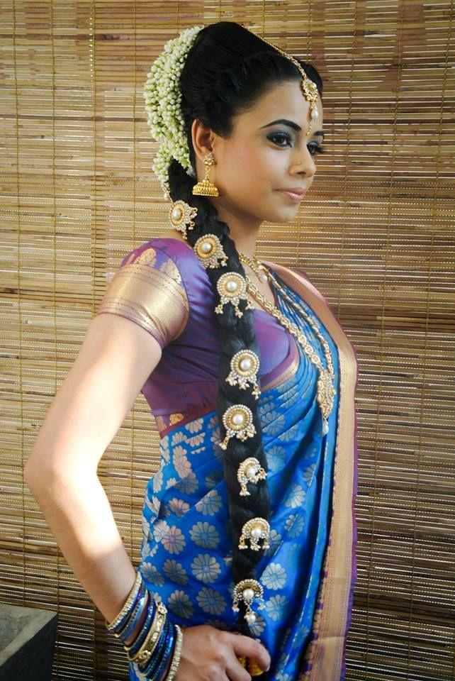 72 Best Indian Wedding Hair Do Images On Pinterest