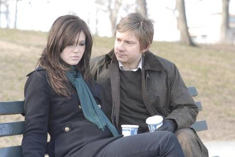 Martin Freeman and Mandy Moore in Dedication