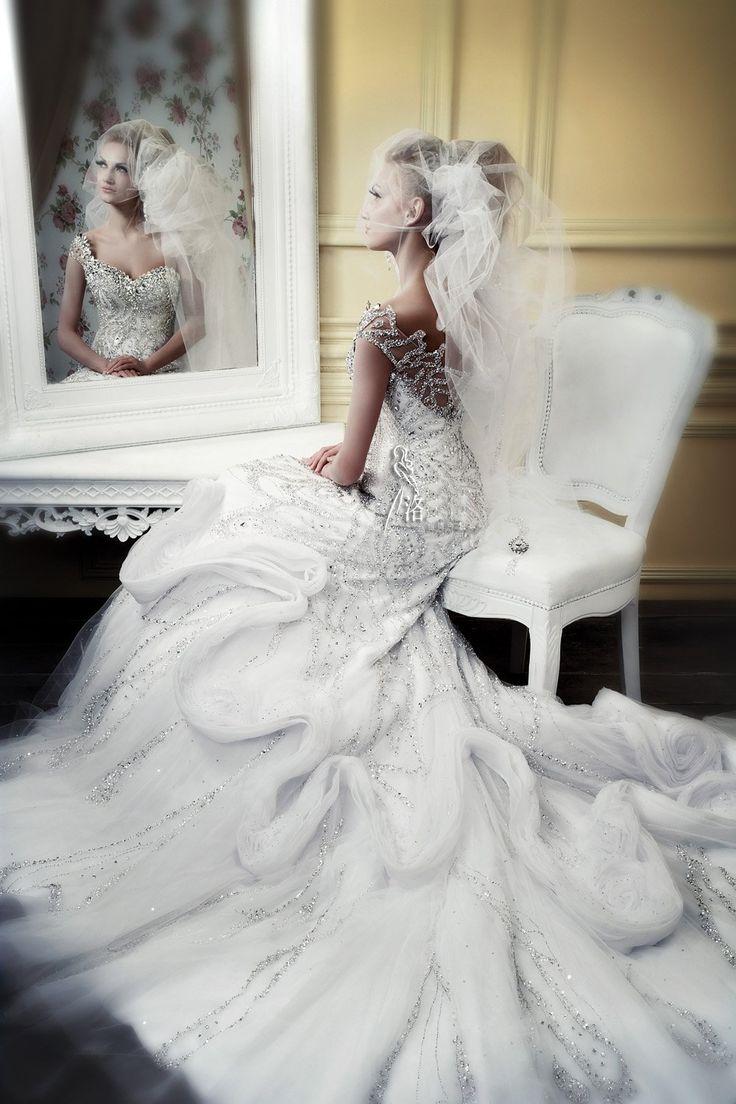 114 best ideas for my wedding images on Pinterest | Veils, Bridal ...