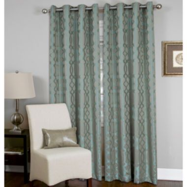 Elrene Latique Grommet Top Curtain Panel Found At Jcpenney Curtians Pinterest