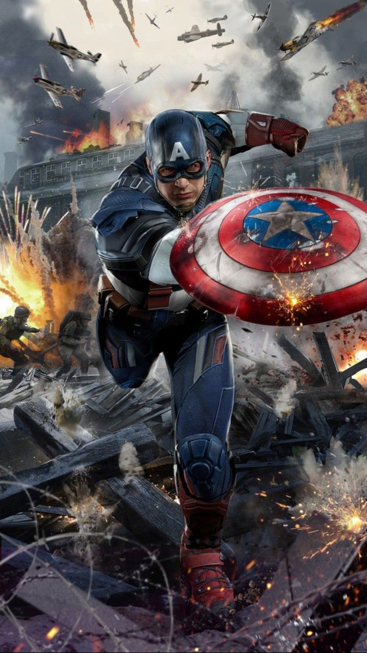 The 15 Most Powerful Characters In The Marvel Universe Captain America Wallpaper Marvel Captain America Captain America