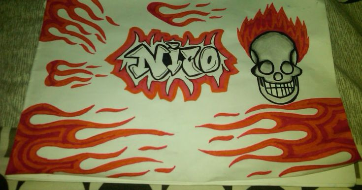 Foto Gambar Tulisan Di Kertas- Gambar Tulisan Grafiti ...