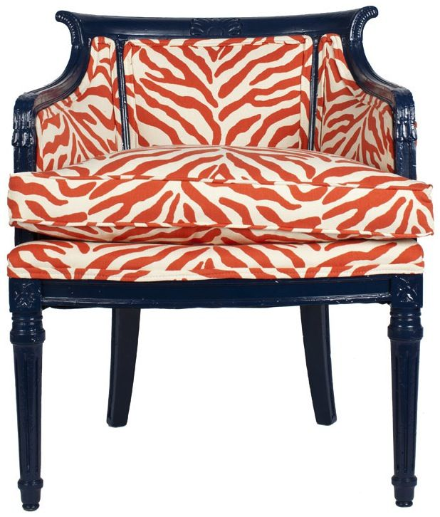 like the chair and fabric combination