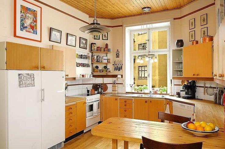 Art Nouveau Apartment in Sweden | Interior Design Files