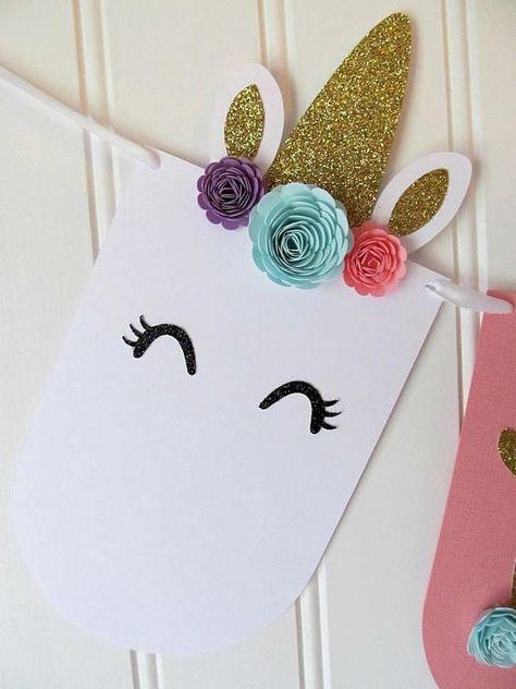 Ideas Para Tu Fiesta: Unicornio. Unicorn Theme. Party Ideas