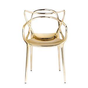 CASANOVA Møbler — KARTELL - Masters stol - guld