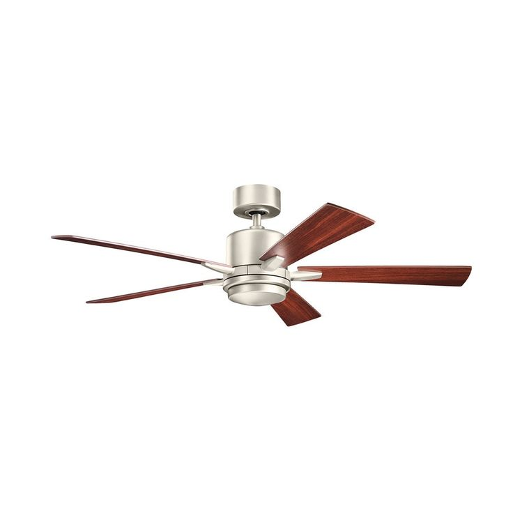 Kichler Lighting Lucian Collection 52-inch Brushed LED Ceiling Fan
