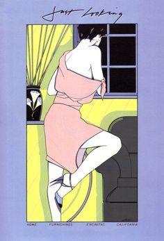 Patrick Nagel | art | illustration | 1985